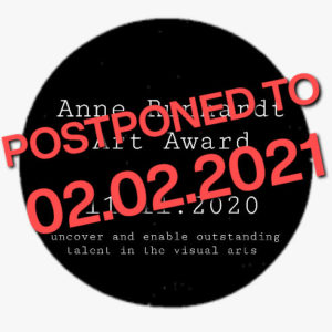 logo Anne Runhardt Art Award postponed